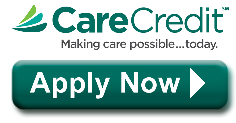 Care Credit Application for Aventura Dental Group. Apply now button.